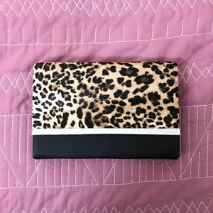 Handbags - Leopard clutch / crossbody